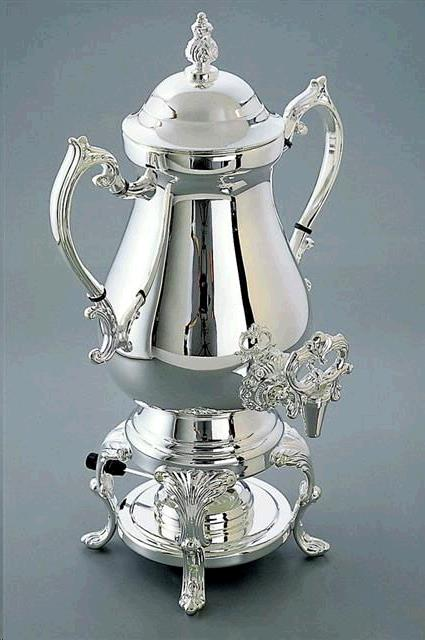 Where to find COFFEE URN, SILVER 50C in Vinton