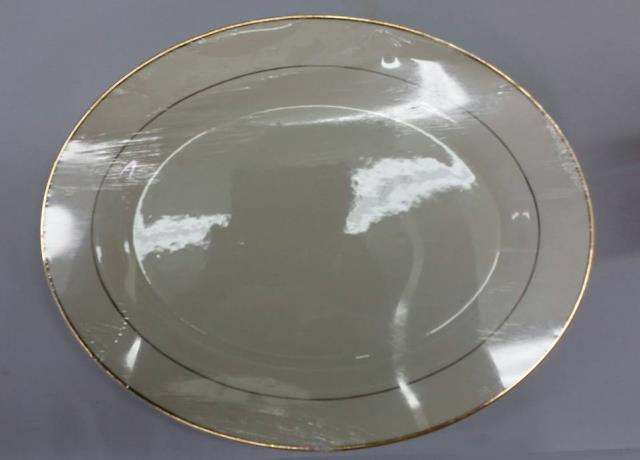 Where to find PLATTER, GOLD OVAL LARGE in Vinton
