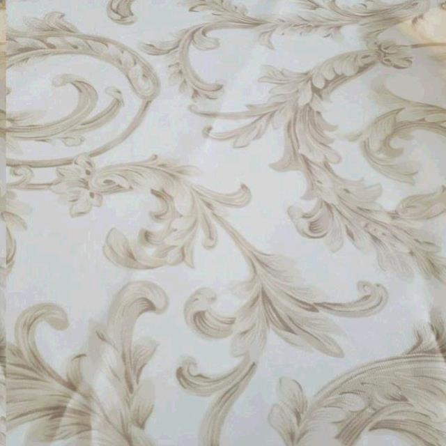 Where to find TBLC, WHITE SHEER W TAN DESIGN 72X72 in Vinton