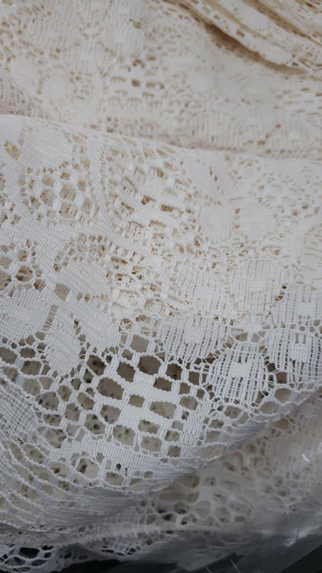 Where to find TBLC, LACE 96 IVORY ROUND in Vinton