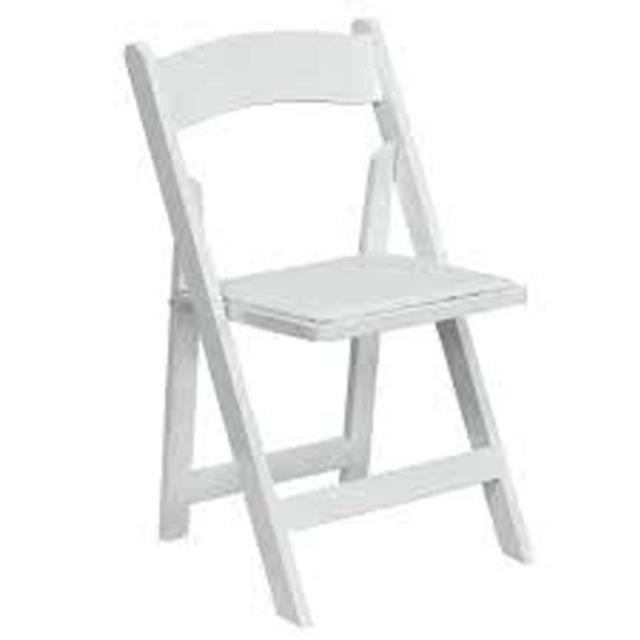 Where to find CHAIR, WHITE PADDED in Vinton