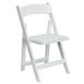 Where to rent CHAIR, WHITE PADDED in Vinton VA