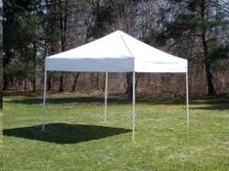 Where to find TENT, FRAME 10X10 WHITE in Vinton