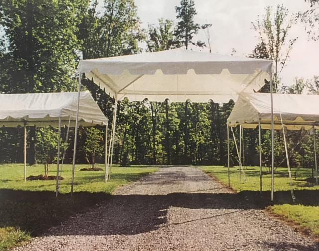 Where to find TENT, FRAME 15X15 WHITE in Vinton