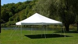Where to find TENT, POLE 20X20 WHITE-SET UP ADDITIONAL in Vinton