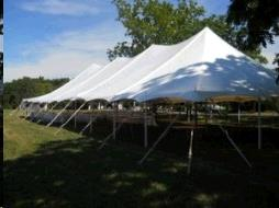 Where to find TENT, POLE 40X100 COMMERCIAL in Vinton