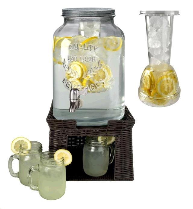 Where to find MASON JAR BEVERAGE DISPENSER 3 GAL. in Vinton