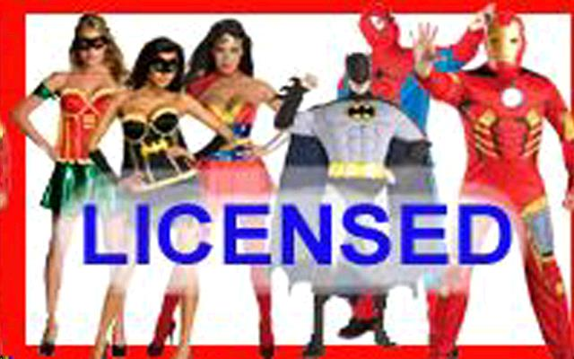 Rent Licensed Costume Rentals
