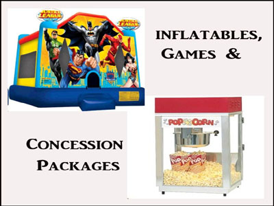 Rent Inflatable Games & Concession Packages